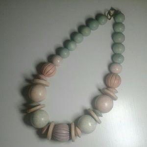 Funky Chunky '80s Necklace